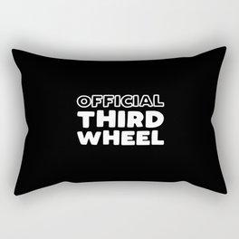 Official Third Wheel Rectangular Pillow
