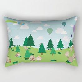 Bear Party Rectangular Pillow