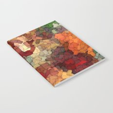 Autumn Inspired Torn Scraps 2492 Notebook