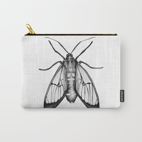 Wasp Moth Carry-All Pouch