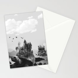 Tutles and the Trees Stationery Cards