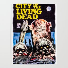 City of the Living Dead Print Poster