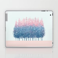 pink and blue trees Laptop & iPad Skin