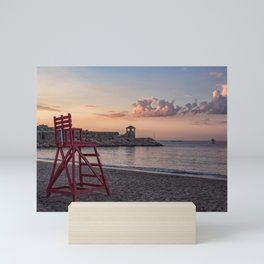 Front Beach After Hours Mini Art Print