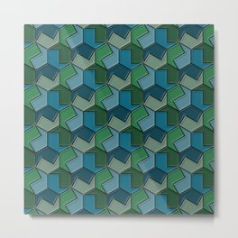 Geometrix 166 Metal Print