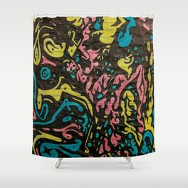 Level Seven Download Shower Curtain