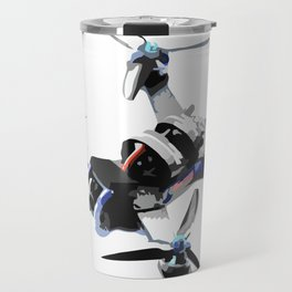 Freestyle quad or fpv drone for race drone freestyle pilots Travel Mug