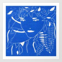 fern Art Prints featuring FERN by Andrea Jean Clausen - andreajeanco