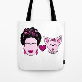 Frida Loves Chi Tote Bag