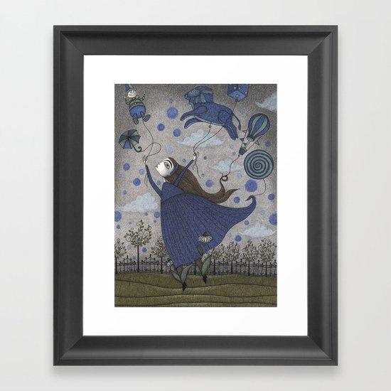 Violetta Dreaming Framed Art Print