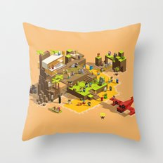 PIXEL ISLAND VOL.2 Throw Pillow