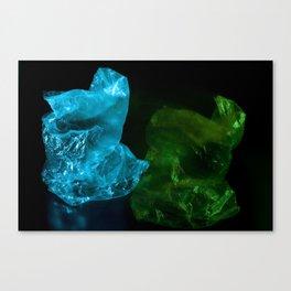 Recycling Plastic Canvas Print