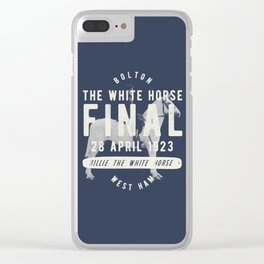 White Horse Cup Final 1923 Clear iPhone Case