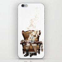 ghost in the shell iPhone & iPod Skins featuring The Ghost in the Shell by Peejay Catacutan