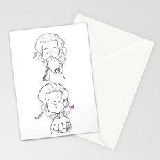 Blow A Kiss Stationery Cards