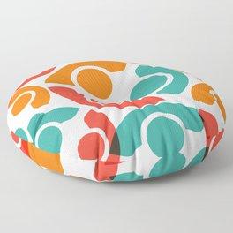 People Group Teamwork Floor Pillow