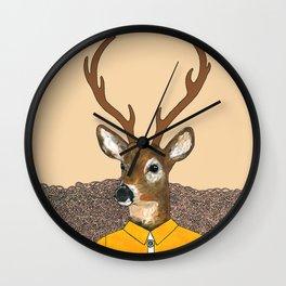 Dapper Deer Wall Clock