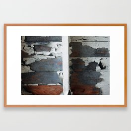 train wreck Framed Art Print