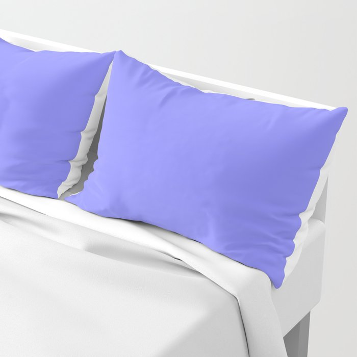 Periwinkle Solid Color Pillow Sham