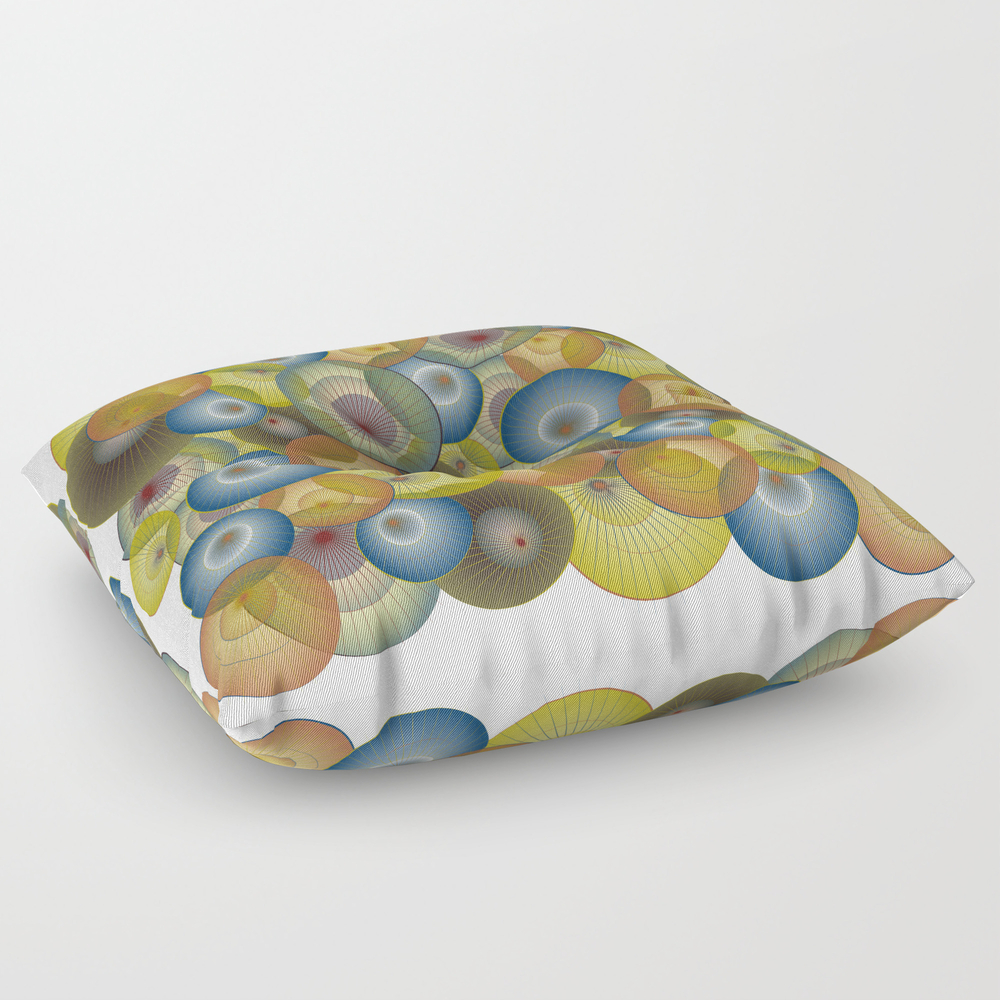 Parasols Floor Pillow by Dancingbird (FPL9951329) photo