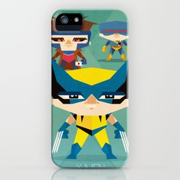 X Men fan art iPhone Case