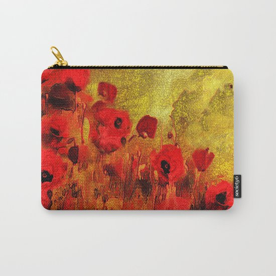 FLOWERS - Poppy reverie Carry-All Pouch