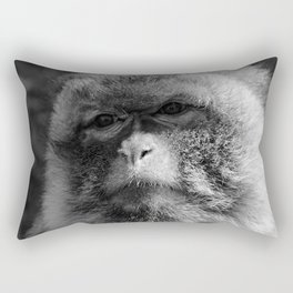 Monkey Close-up Rectangular Pillow