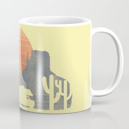 Trail of the dusty road Coffee Mug