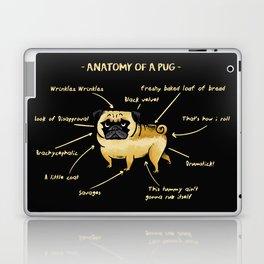 Anatomy of A Pug Laptop & iPad Skin