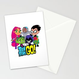 Teen Titans GO Stationery Cards