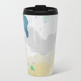 Watercolor Canvas Travel Mug