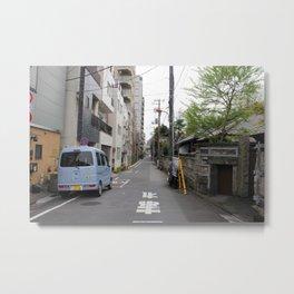 Backstreets of Tokyo Metal Print