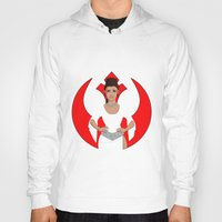leia Hoodies featuring Leia by DearlyMe