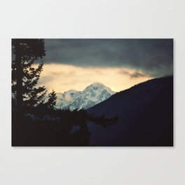 Setting in Canvas Print
