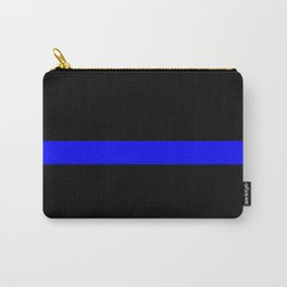 Thin Blue Line Police Flag Carry-All Pouch