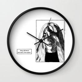 g a g a Wall Clock