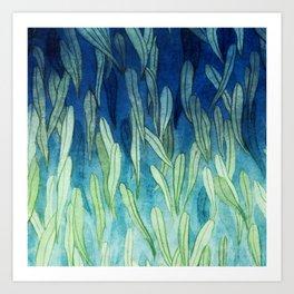 Leaf Texture Art Print