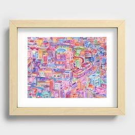 Big City Feeling Recessed Framed Print