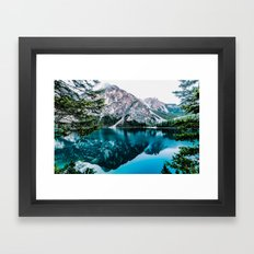Away from civilization Framed Art Print