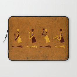 Forms of Prayer - Yellow Laptop Sleeve