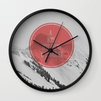 best friend Wall Clocks featuring best friend by Jesse Robinson Williams
