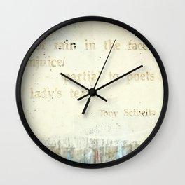 Writing on the Wall [1] Wall Clock