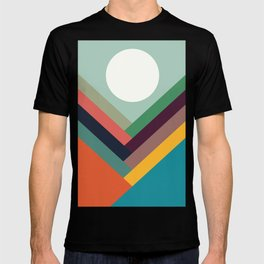 Rows of valleys T-shirt