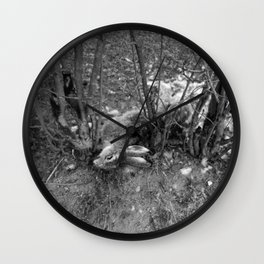 Dead Rabbit Dead. Wall Clock