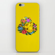 Gorodec Skull iPhone & iPod Skin