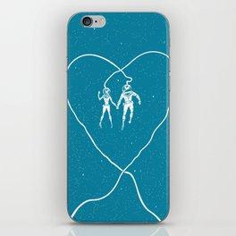 Love Space, Blue iPhone Skin