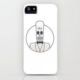 Grim Fandango - Manny Calavera iPhone Case