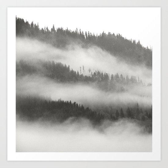 Natural Layers Art Print