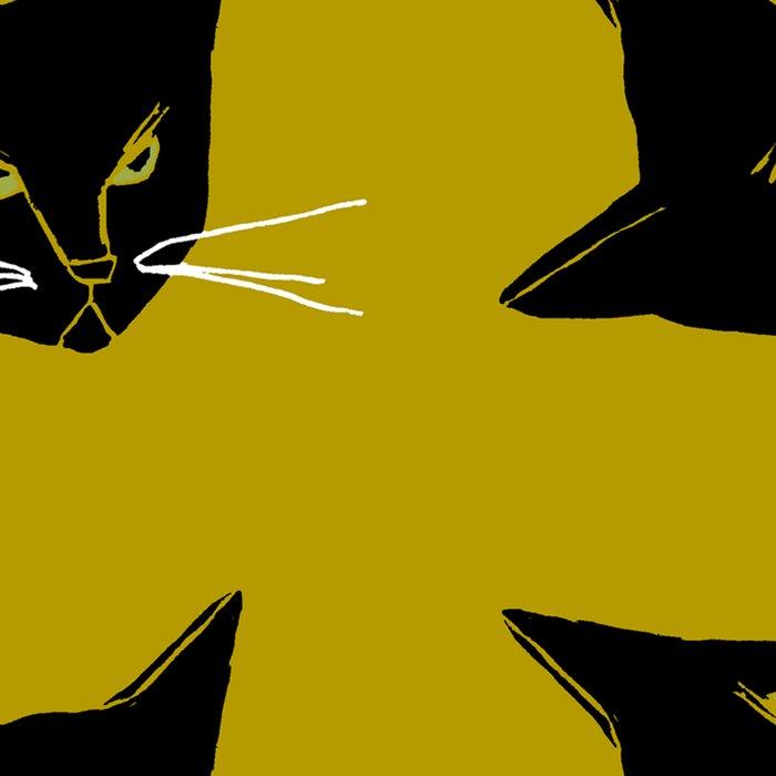 Mr. Black Cat Leggings