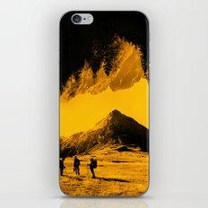 Hello threes of yellow isolation iPhone & iPod Skin